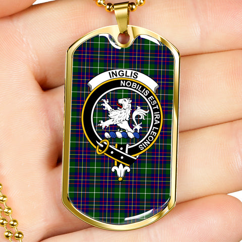 Image of Inglis Tartan Dog Tag
