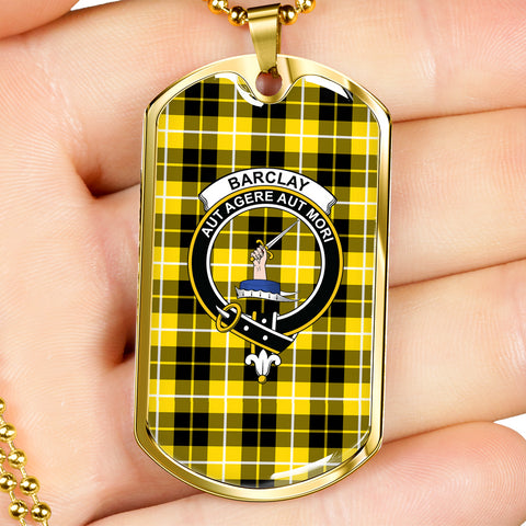 Barclay Dress Modern Tartan Dog Tag HJ4