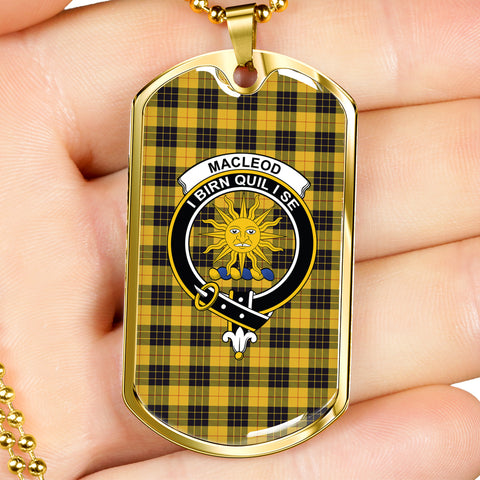 Image of MacLeod of Lewis Ancient Tartan Dog Tag