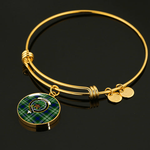 Image of Swinton  Tartan Crest Circle Bangle HJ4