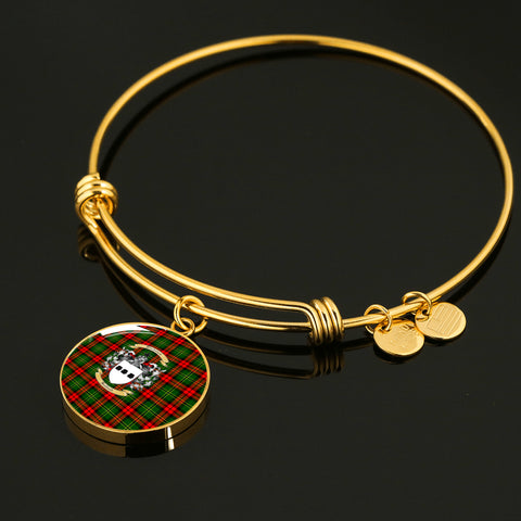 Blackstock Tartan Crest Circle Bangle HJ4