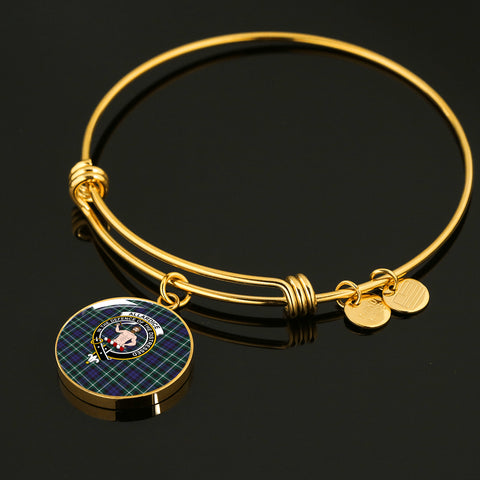 Allardice Tartan Crest Circle Bangle
