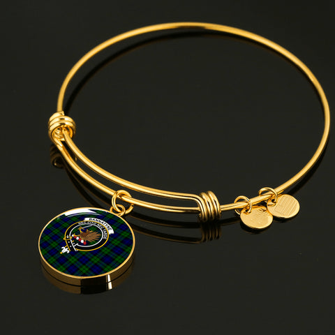 Bannatyne  Tartan Crest Circle Bangle