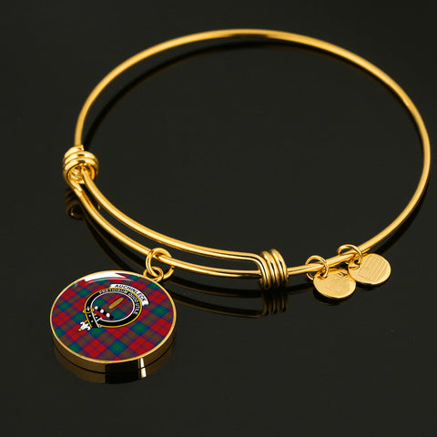 Auchinleck  Tartan Crest Circle Bangle