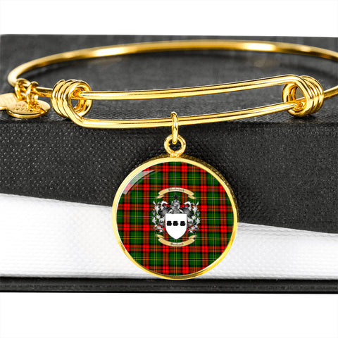 Blackstock Tartan Crest Circle Bangle