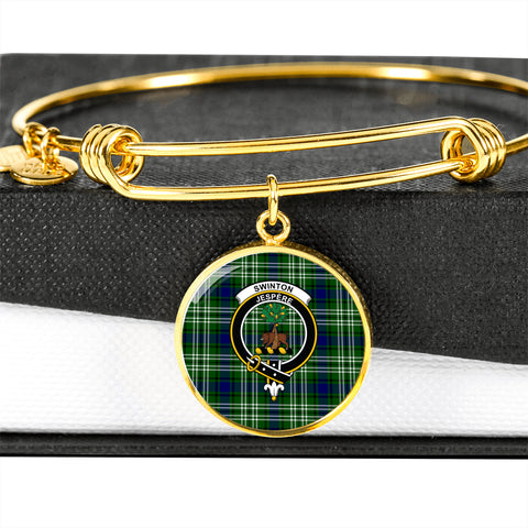 Swinton  Tartan Crest Circle Bangle HJ4