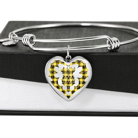 Barclay Dress Modern Tartan Bangle Thistle Heart Shape
