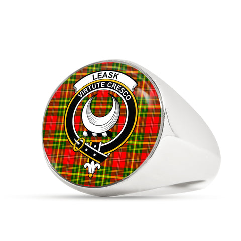 Leask scottish ring silver