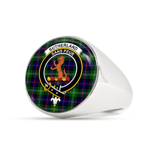 Sutherland II scottish ring silver