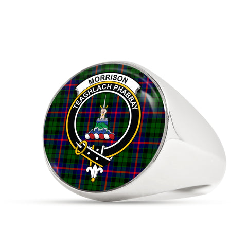 Morrison Modern scottish ring silver