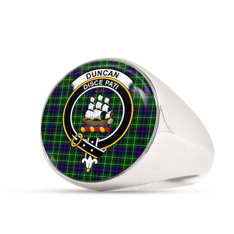 Image of Duncan scottish ring silver