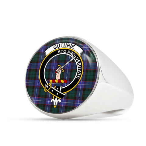 Guthrie Modern scottish ring silver