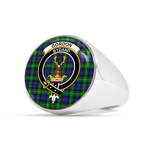 Gordon Modern scottish ring silver