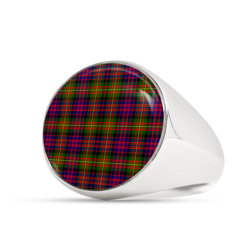 Carnegie Modern  Tartan Ring Th8