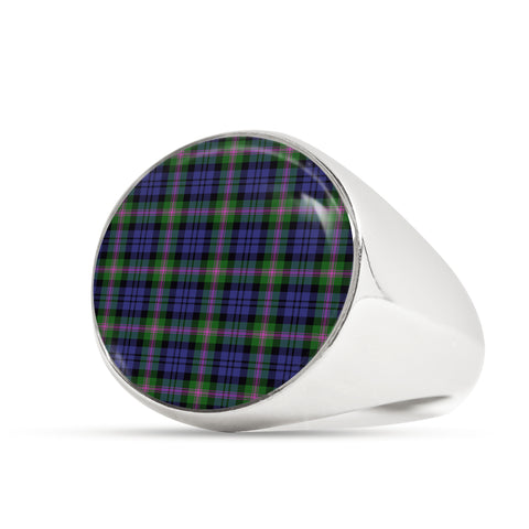 Image of Baird Modern  Tartan Ring Th8