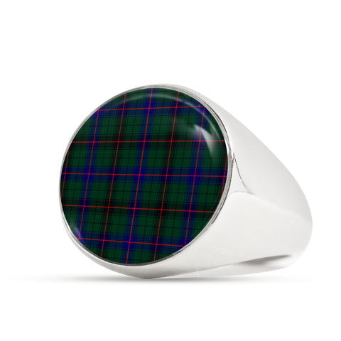 Davidson Modern  Tartan Ring Th8