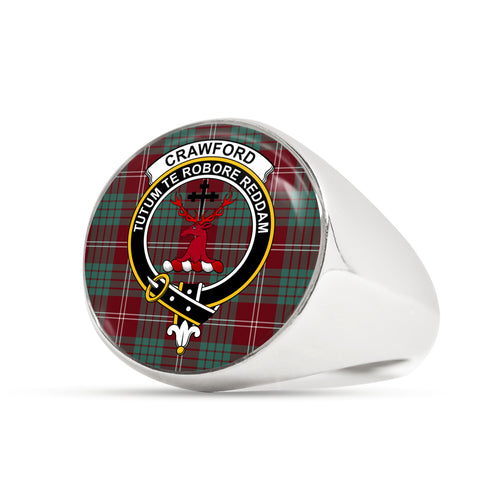 Crawford Modern scottish ring silver