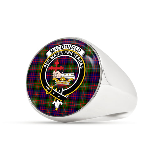 MacDonald scottish ring silver