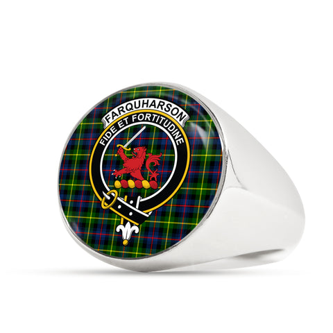 Image of Farquharson Modern scottish ring silver