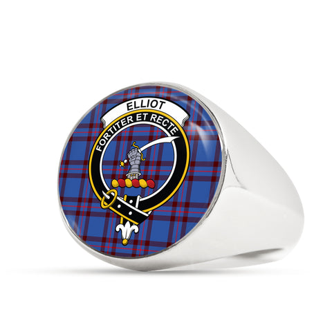 Image of Elliot Modern scottish ring silver