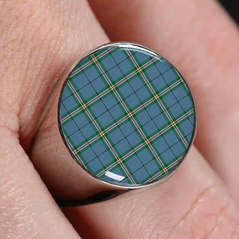 Image of Clelland modern  Tartan Ring | scottishclans.co