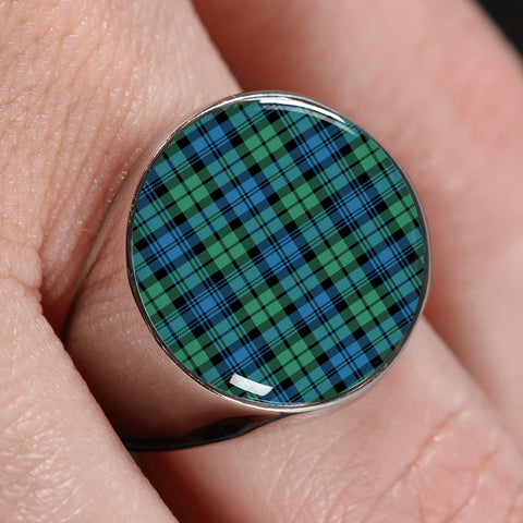Campbell Ancient 01  Tartan Ring | scottishclans.co