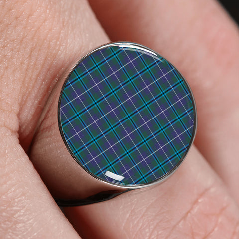 Douglas Modern  Tartan Ring | scottishclans.co