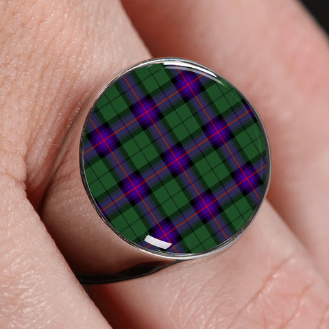 Armstrong Modern  Tartan Ring | scottishclans.co