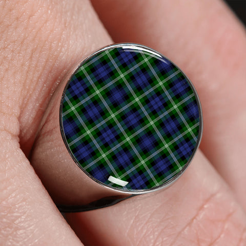 Image of Baillie Modern  Tartan Ring | scottishclans.co