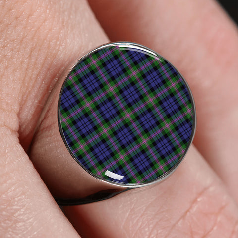 Image of Baird Modern  Tartan Ring | scottishclans.co