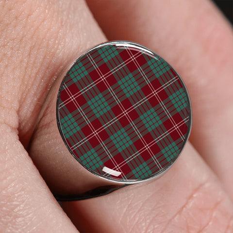 Crawford Modern  Tartan Ring | scottishclans.co