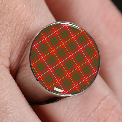 Image of Bruce Modern  Tartan Ring | scottishclans.co