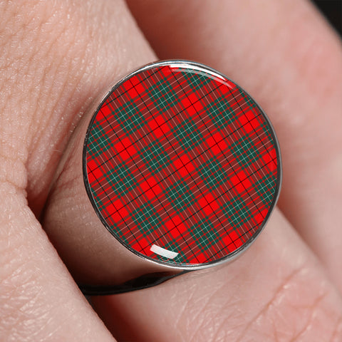 Cumming Modern  Tartan Ring | scottishclans.co