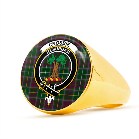 Crosbie scottish ring gold
