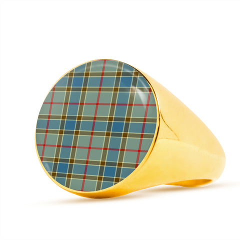 Image of Balfour Blue  Tartan Ring Th8