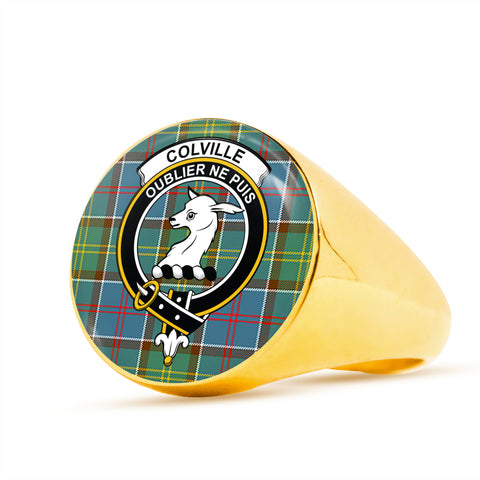 Image of Colville district scottish ring gold