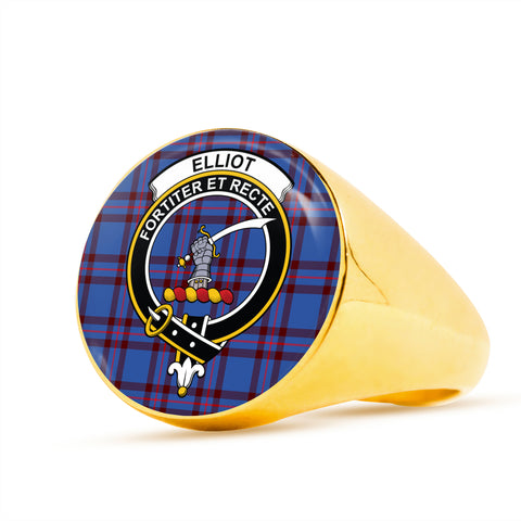 Image of Elliot Modern scottish ring gold