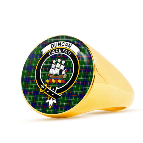 Image of Duncan scottish ring gold