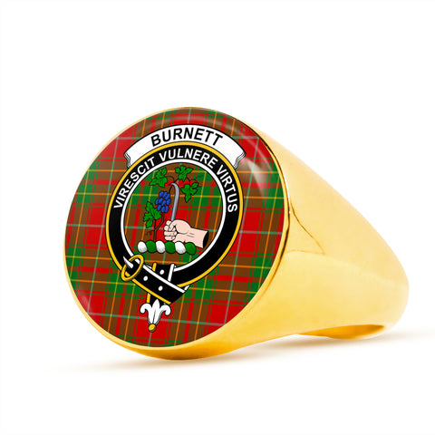 Image of Burnett Ancient scottish ring gold