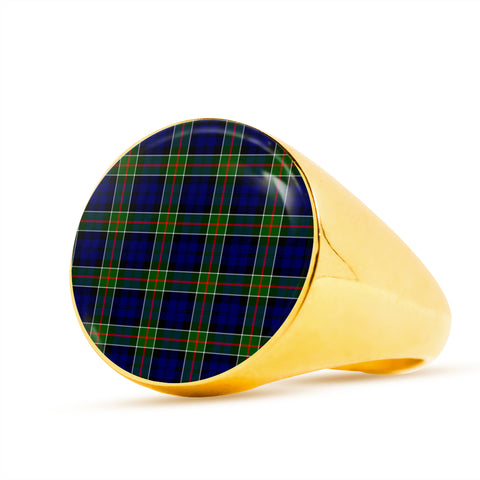 Colquhoun Modern  Tartan Ring Th8