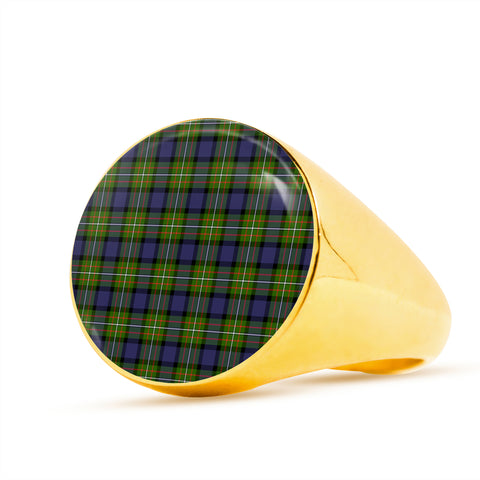 Fergusson Modern Tartan Ring TH8