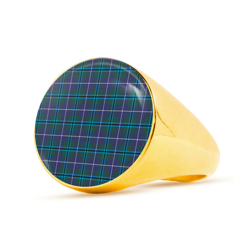 Douglas Modern  Tartan Ring Th8