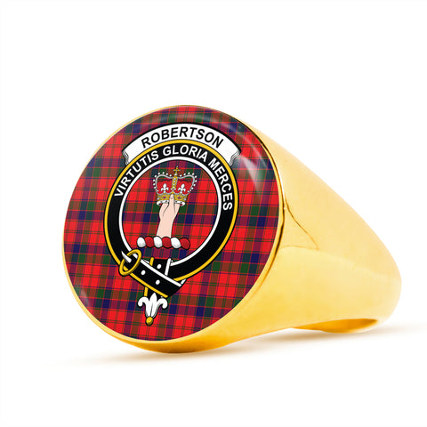 Robertson Modern scottish ring gold