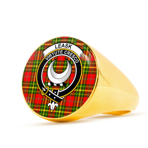 Leask scottish ring gold