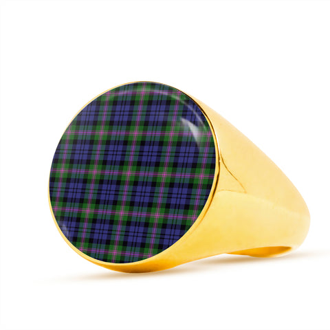 Baird Modern  Tartan Ring Th8