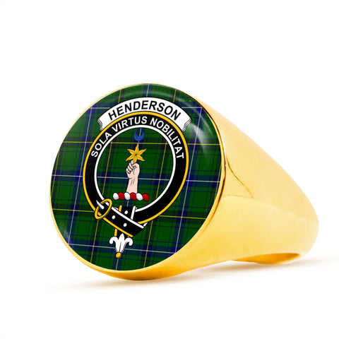 Image of Henderson Modern scottish ring gold