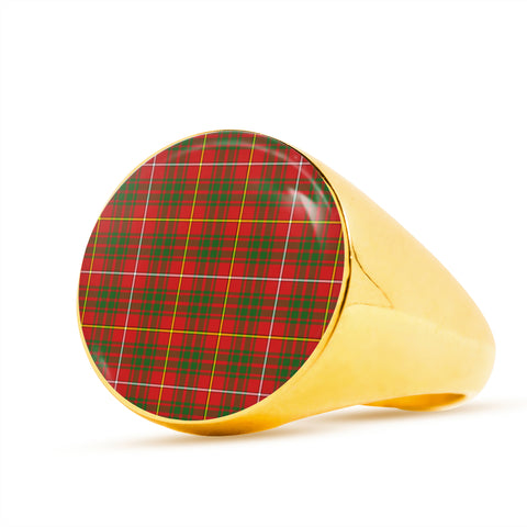 Bruce Modern  Tartan Ring Th8