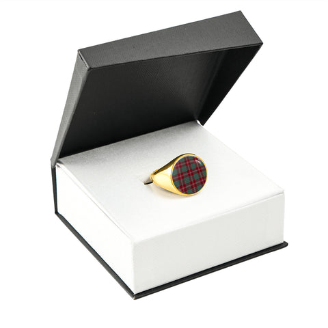 Image of Crawford Modern  Tartan Ring Th8
