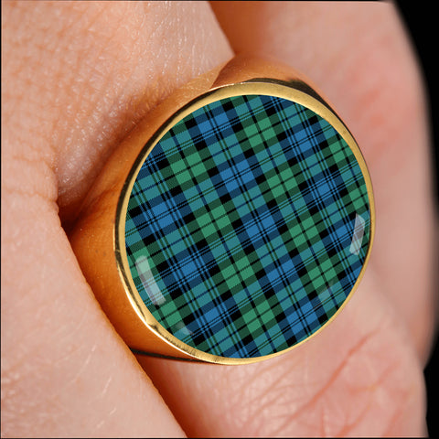 Image of Campbell Ancient 01  Tartan Ring Th8