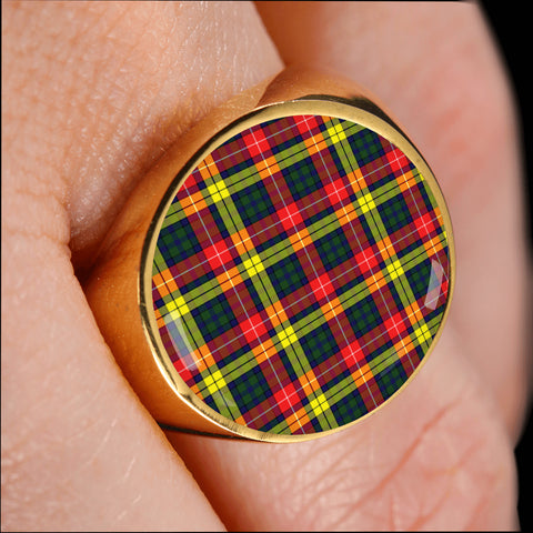 Buchanan Modern  Tartan Ring Th8